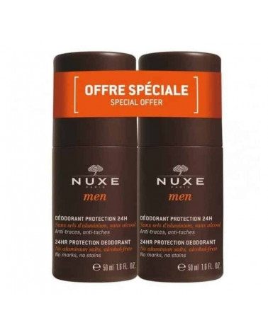 Nuxe Men Duplo Desodorante Caballero Roll-On