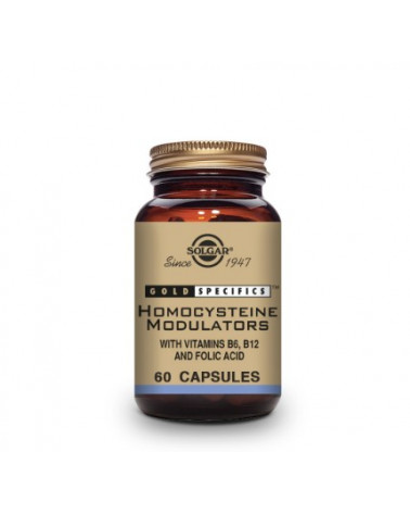 Solgar Gold Specifics Homocysteine Modulators - 60 Cápsulas Vegetales